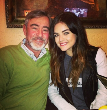 Lucy Hale parents photo