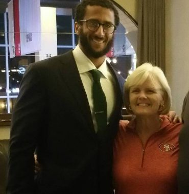 Colin Kaepernick parents photo
