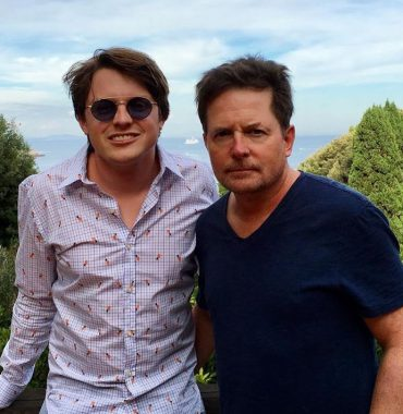 Michael J. Fox kids photo