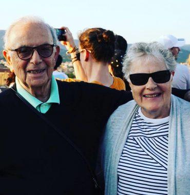 Stanley Tucci parents photo