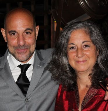 Stanley Tucci siblings photo