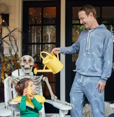 Mark Zuckerberg kids photo