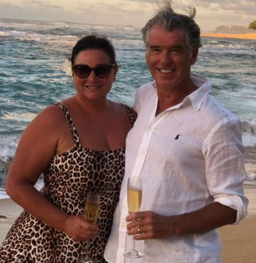 Pierce Brosnan wife photo