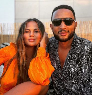 Chrissy Teigen husband photo