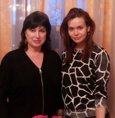 Irina Shayk parents photo