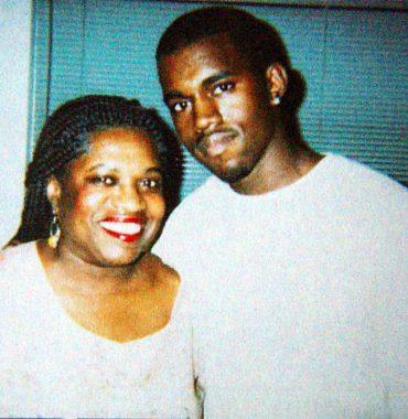 Kanye West parents photo