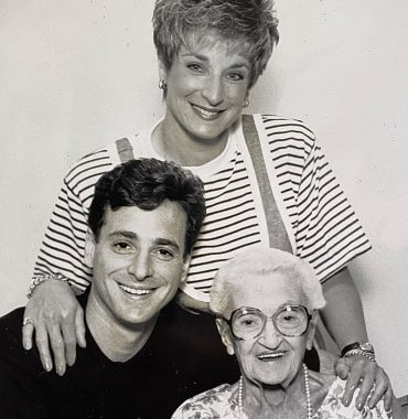 Bob Saget siblings photo