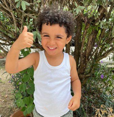 Karim Benzema kids photo