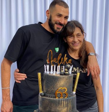 Karim Benzema parents photo