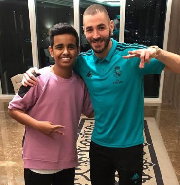 Karim Benzema siblings photo