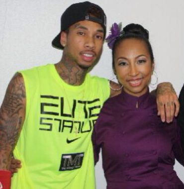Tyga parents photo