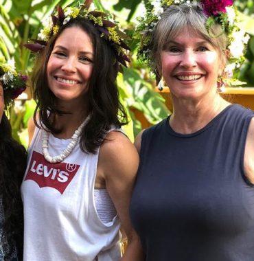 Evangeline Lilly parents photo