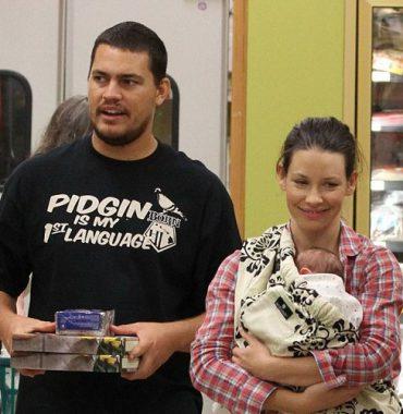 Evangeline Lilly husband photo