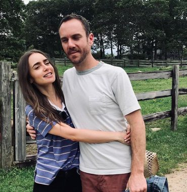 Lily Collins husband photo