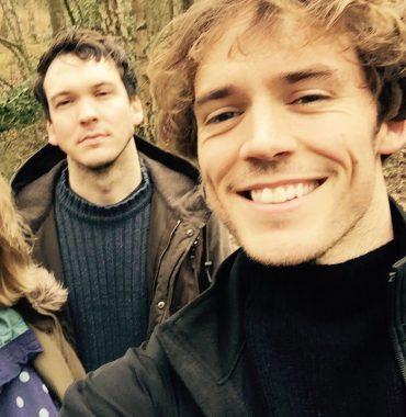 Sam Claflin siblings photo