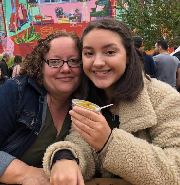 Sarah Jeffery parents photo