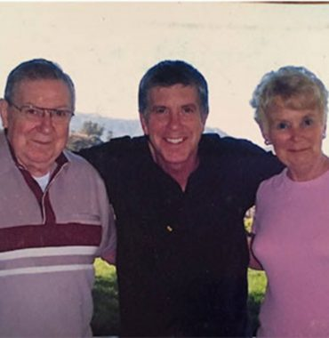 Tom Bergeron parents photo