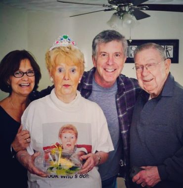 Tom Bergeron siblings photo