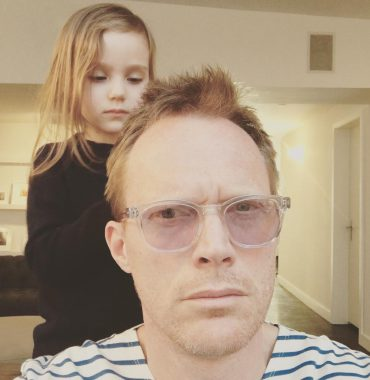 Paul Bettany kids photo